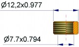 Втулка для крепления R-0736-2